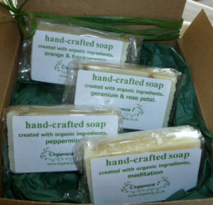 Four small soaps gift box 13